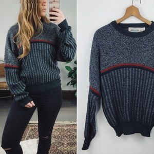 VINTAGE// Chunky Knit Oversized Sweater